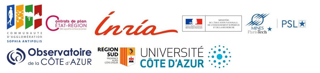 Logos des partenaires de l'OPAL