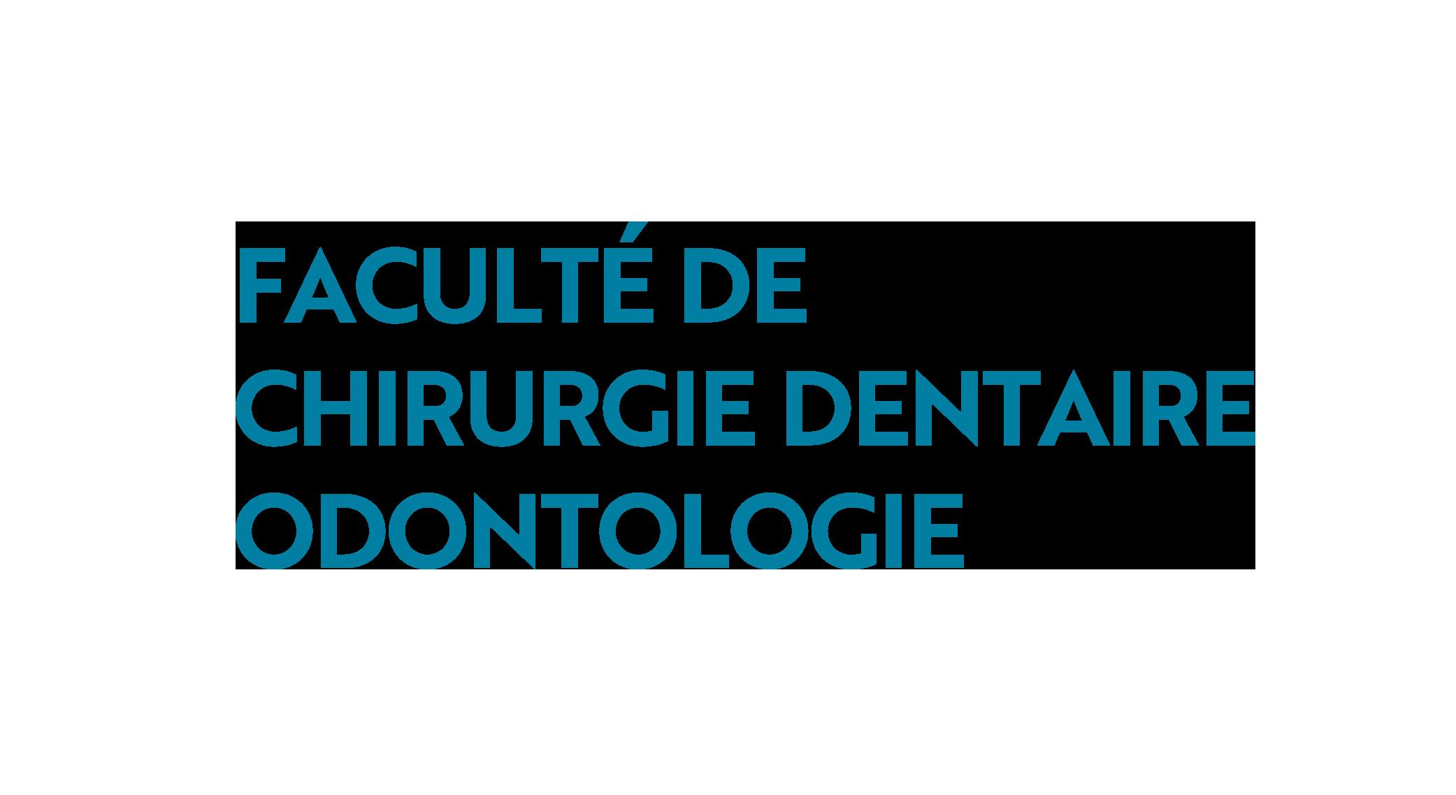 Logo odontologie