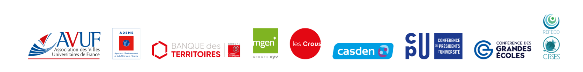 logo des organisations fondatrices du label Agir Ensemble